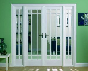 What are the different types of conservatory door?